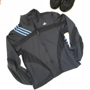 Adidas Climacool Mesh combo Gray Jacket M